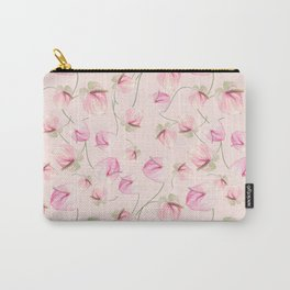 seamless   pattern of Anthurium Flowers Carry-All Pouch
