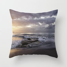 ocean bliss Throw Pillow