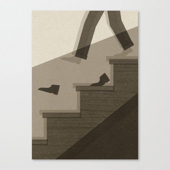 One Step Ahead Canvas Print