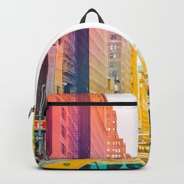 Colors of New York City Downtown Manhattan Backpack