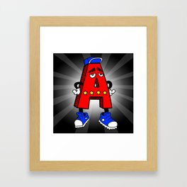 A is for AWESOME Framed Art Print