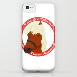 I Met Li'l Sebastian iPhone Case