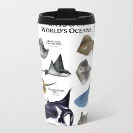 Rays of the World's Oceans Travel Mug