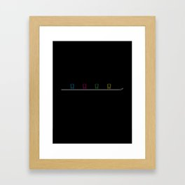 The Shotski Framed Art Print