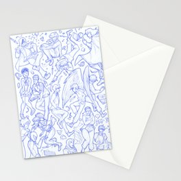 Character dump 2017 Stationery Cards