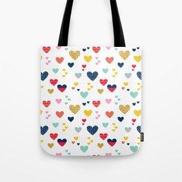cheerful hearts Tote Bag
