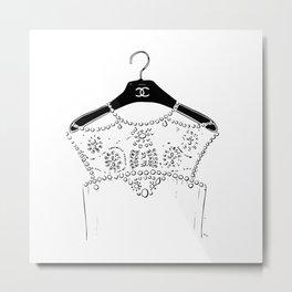 Dress Metal Print