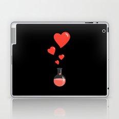 Love Chemistry Flask of Hearts Laptop & iPad Skin