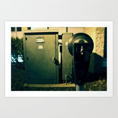 Parking Meter. Pay.  Art Print