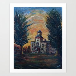 Vernon County Courthouse, Viroqua, WI Art Print