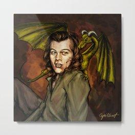 Dragon Series: Harry Metal Print