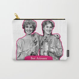 Jessica Lange and Meryl Streep Carry-All Pouch