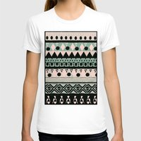 nordic T-shirts featuring PASTEL NORDIC TRIBAL  by Nika