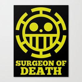 Surgeon Of Death Canvas Print
