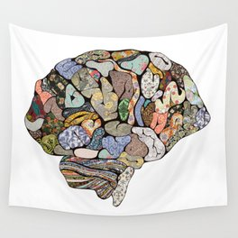 My Brain Looks Different Wall Tapestry