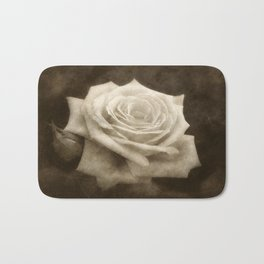 Pink Roses in Anzures 4 Antiqued Bath Mat