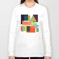 geo Long Sleeve T-shirts featuring Geo by Mr and Mrs Quirynen