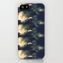 Phased Waxing Gibbous iPhone Case