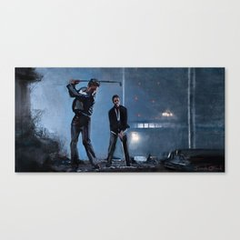 Golfing Buddies (paper street soap company) Canvas Print