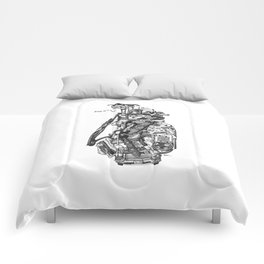King of Clubs Comforters