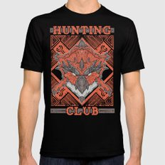 Hunting Club: Rathalos 2X-LARGE Mens Fitted Tee Black