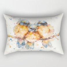 Little Bluebirds Rectangular Pillow