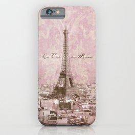 romantic Paris iPhone Case