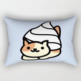 Peaches In Cream Rectangular Pillow