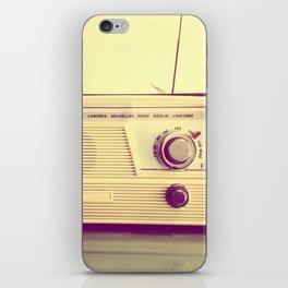 Radio Ga Ga iPhone Skin