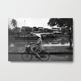 Vietnam's bycicle Metal Print