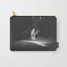 Minimalistic black and white waterfall Carry-All Pouch