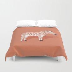 Animal Kingdom: Zebra I Duvet Cover