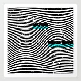 Striposcopy Art Print