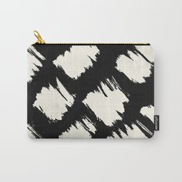 Tribal Brushed Dot Carry-All Pouch