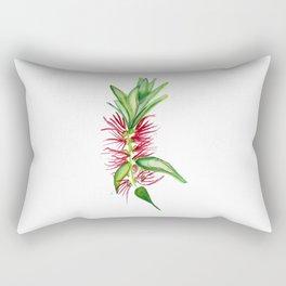 Australian Native Bottlebrush Flower Rectangular Pillow