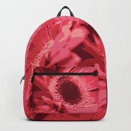 Red Gerberas Backpack