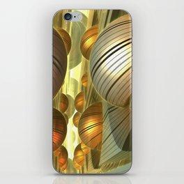 Golden Globes / /  #fractal #fractals #3d iPhone Skin