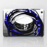 drum iPad Cases featuring Music - Drum by yahtz designs