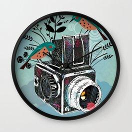 Vintage Camera Hasselblad Wall Clock