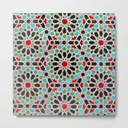 ARTERESTING V46 - Bohemian lifestyle, Traditional Moroccan Design Metal Print