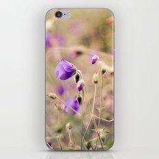 Purple Past iPhone & iPod Skin