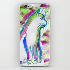 Cat of Color iPhone & iPod Skin