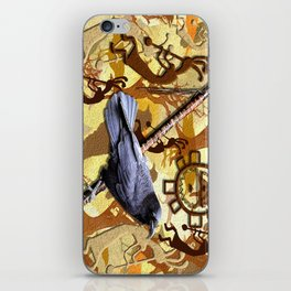 Kokopelli Raven - A Tribute to Music-lovers iPhone Skin