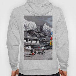 Panoramic View Of Everest Base Camp Hoody