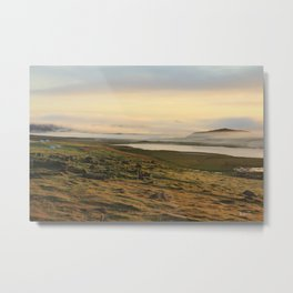 Good morning Iceland Metal Print