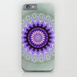 Mandala Friendship iPhone Case