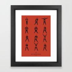 Rocky Horror Picture Show Framed Art Print