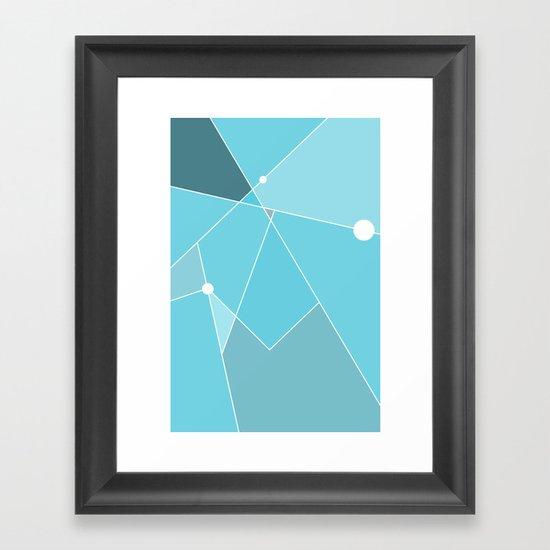 Simple Times 01 Framed Art Print