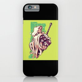 Octopus Knight iPhone Case