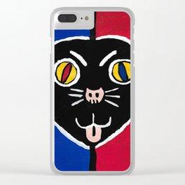 """Jake & Elwood"" Clear iPhone Case"